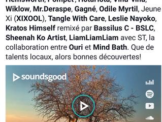 viñu-vinu Encounters EP good reviews and mentions in Le Canal Auditif, Boulimique de Musique and Lis