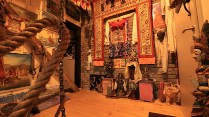 Travel and museum barn Kaulsdorf