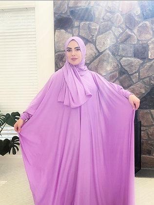 BaZma Lavender Jilbab Set