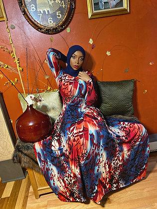 BaZma Autumn Hoodie Dress