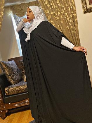 BaZma Signature Jilbab Set in Black and White