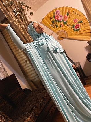 BaZma Seafoam Jilbab Set