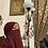 Thumbnail: BaZma Lavendar Half Niqaab