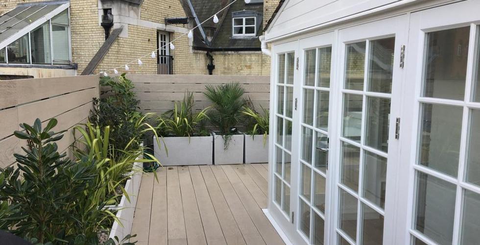 Rooftop Terrace Installation