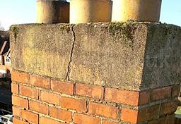 Concrete Chimney repair
