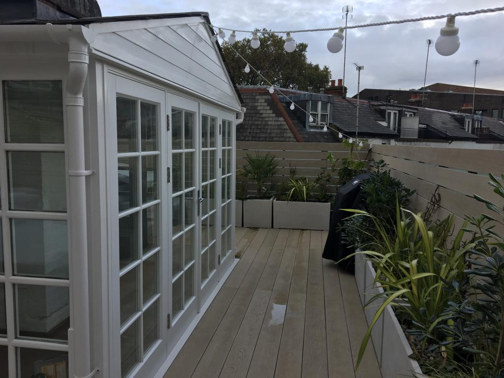 Roof Terrace Installation