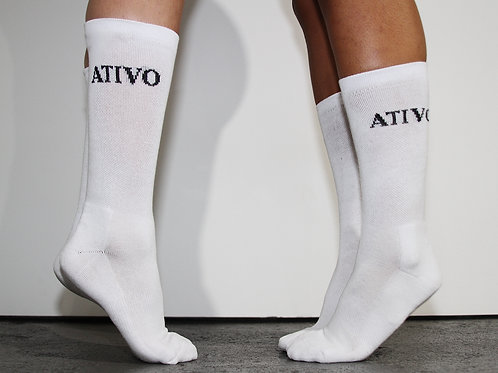 """ATIVO"" Cushion Crew Socks (3 pair)"