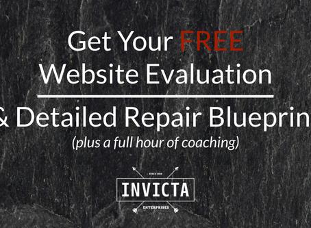Website Eval + Custom Blueprint + Coaching