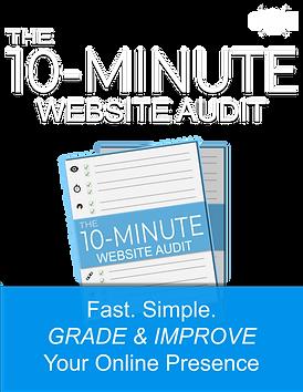 1 - 10-Minute Website Audit - Web Design
