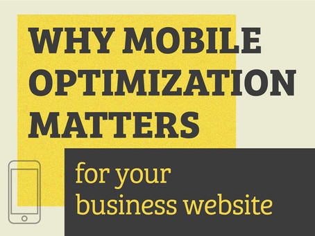 Why Mobile Optimization Matters for Your Business Website