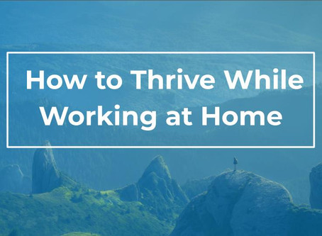 Tips, Tricks, & Ideas for Those New To Working From Home