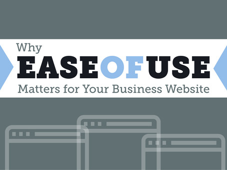 Why Ease of Use Matters for Your Business Website