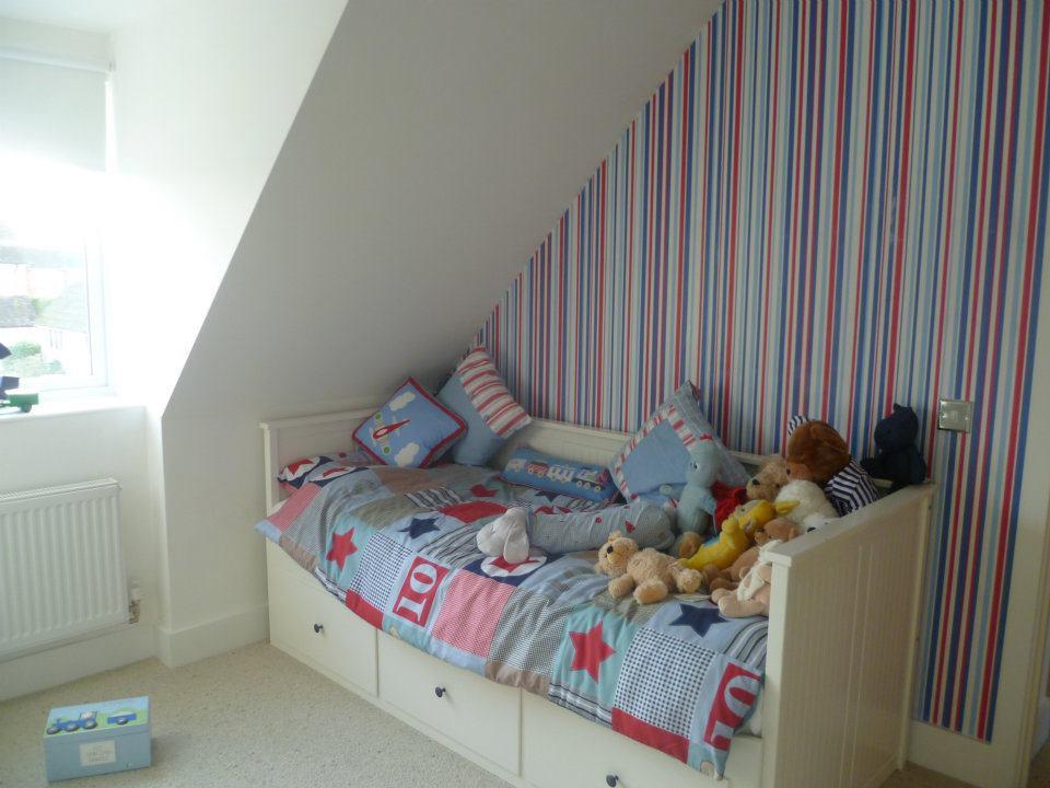 Little boy's bedroom makeover.