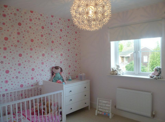 Bedroom fit for a little Princess.