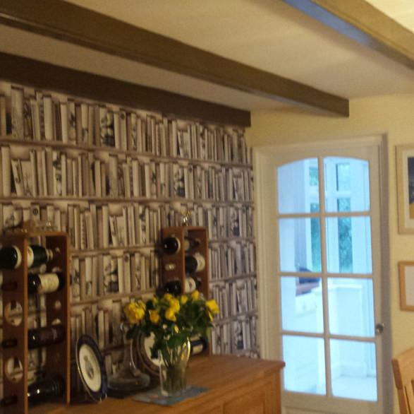 Interior decorating and design services.