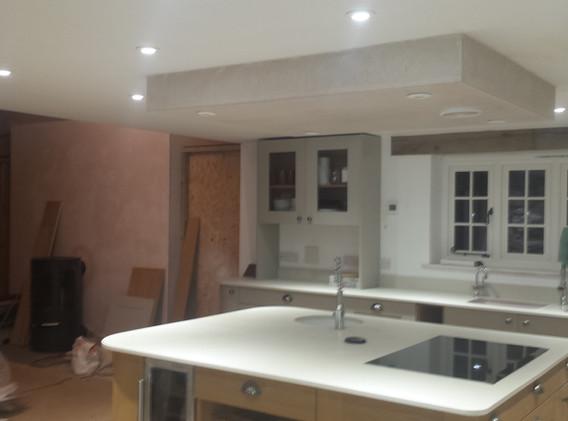 Cottage renovation.