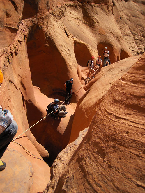 Guided Canyoneering Adventure