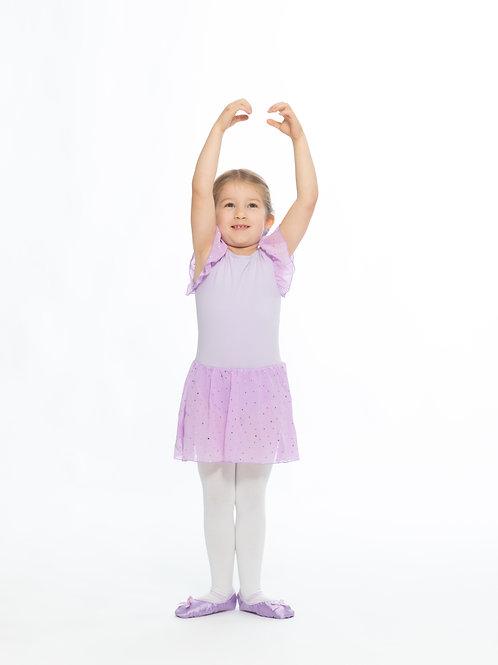 Tanztrikot Violett