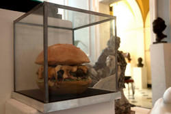 Burger Sculpture