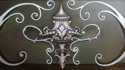 Decorative Pattern on Wood