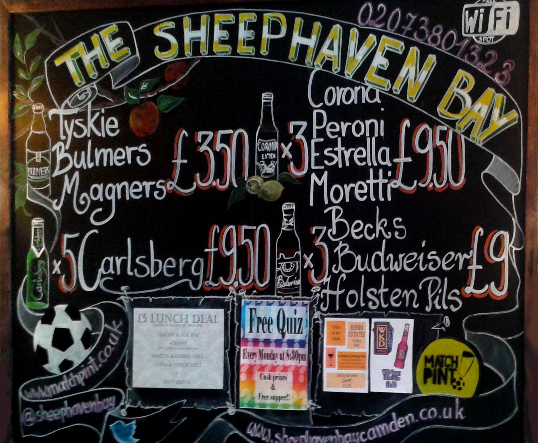 The Sheephaven Bay Board