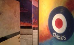 Band of Burgers Wall & Door Detail
