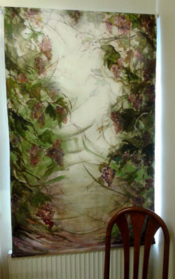Hand Painted Roller Blinds