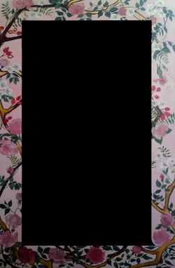 Roses Mirror Frame