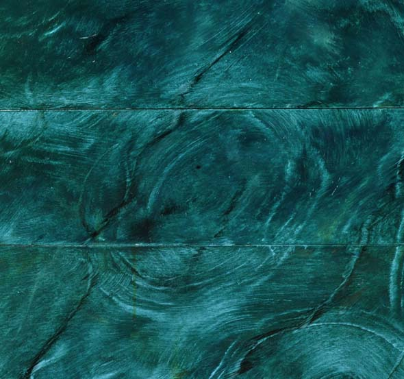 Malachite Marble Faux Finish