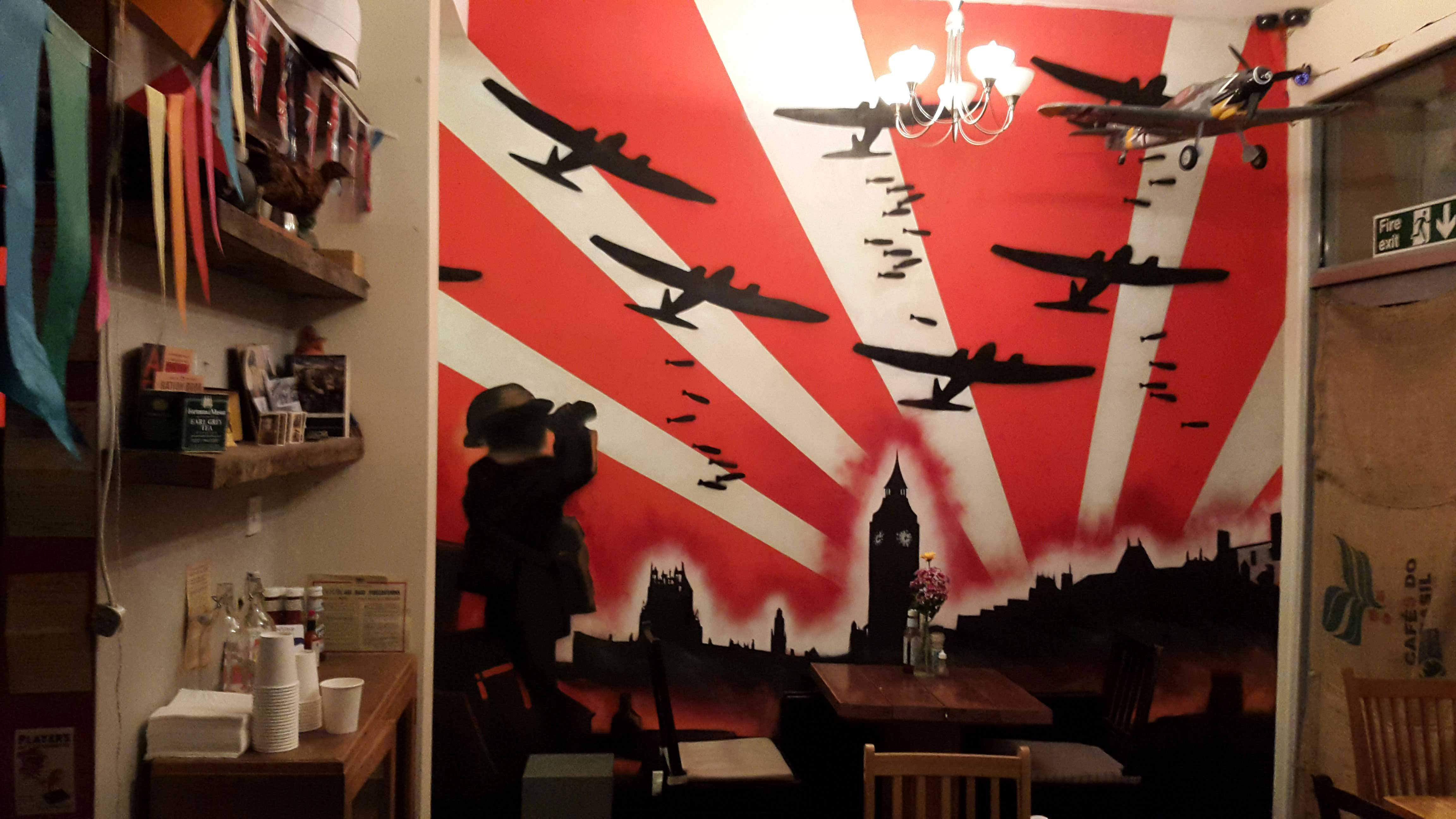 London Blitz at Blighty Coffee