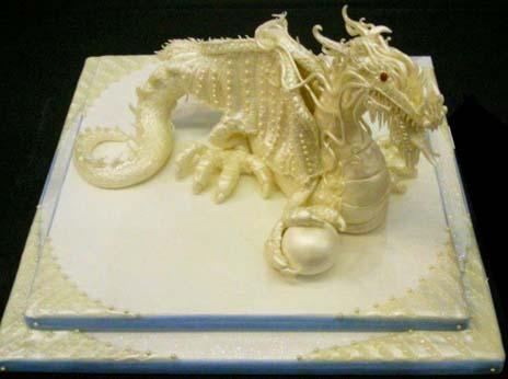 White Chocolate Sculpture