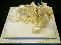 White Chocolate Sculpture