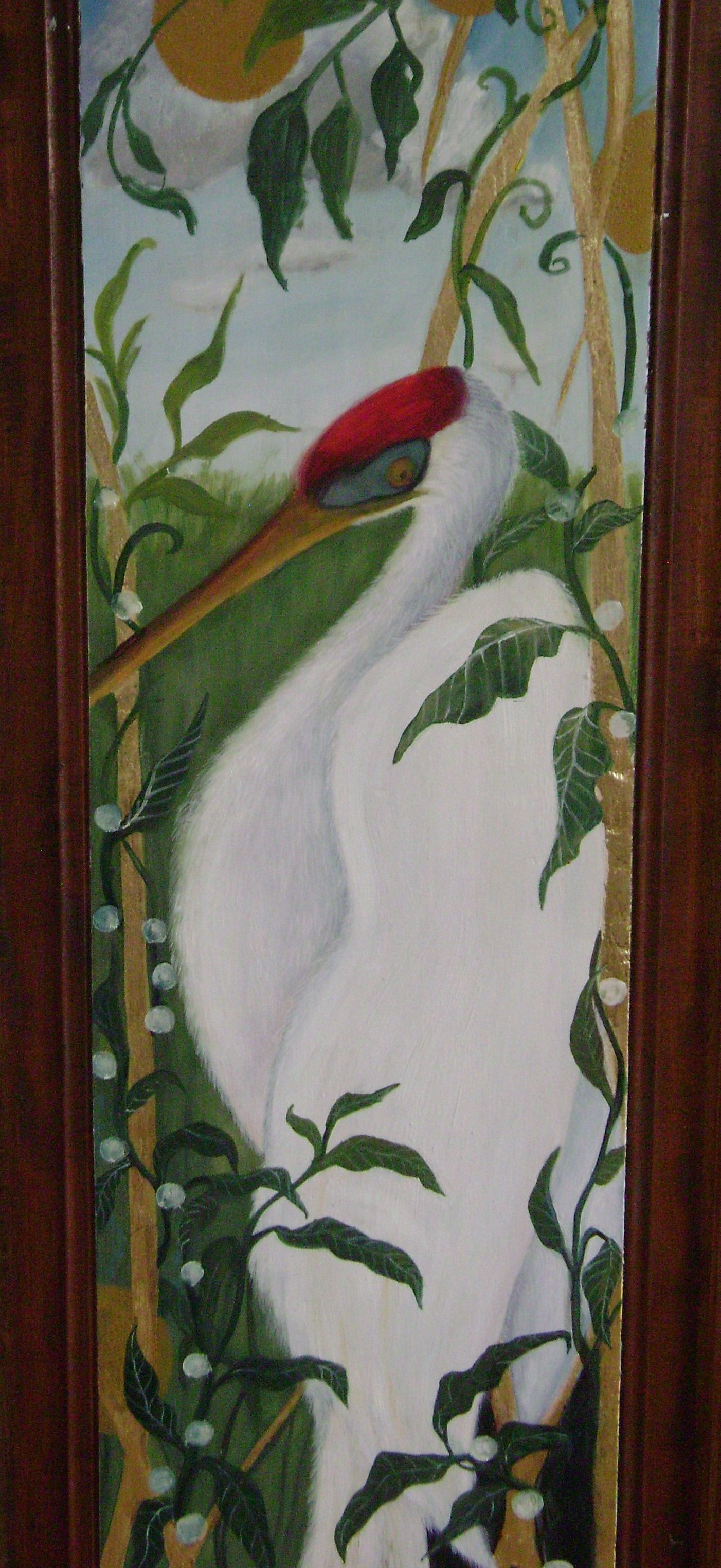 Hand Painted Wardrobe Detail