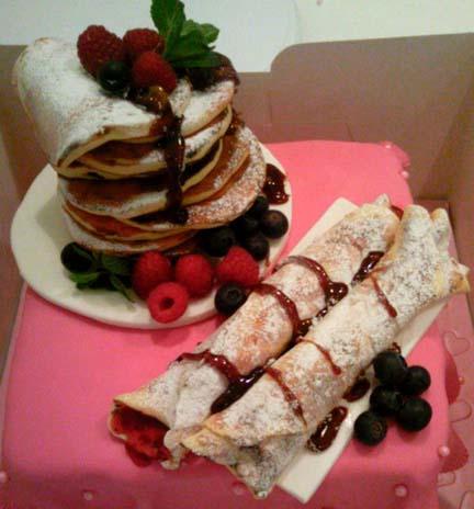 Food Prop with Berries