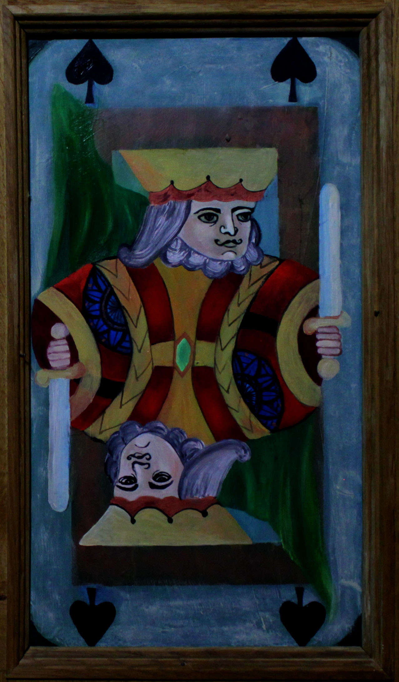 King on Door Panel