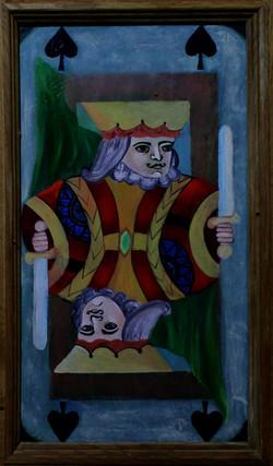King on Door Panel