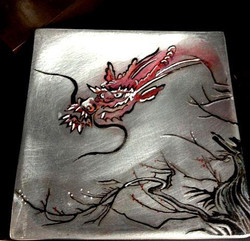 Dragon on Metal Box