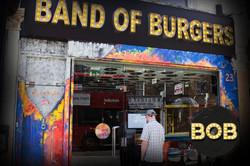 Band of Burgers exterior door