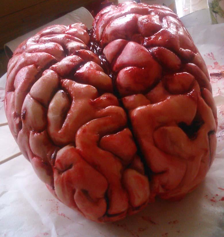 Human Brain Sculpture