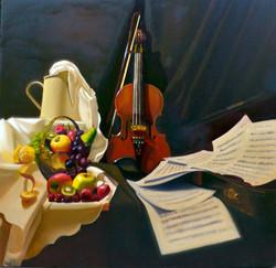 Still Life with Violin 2