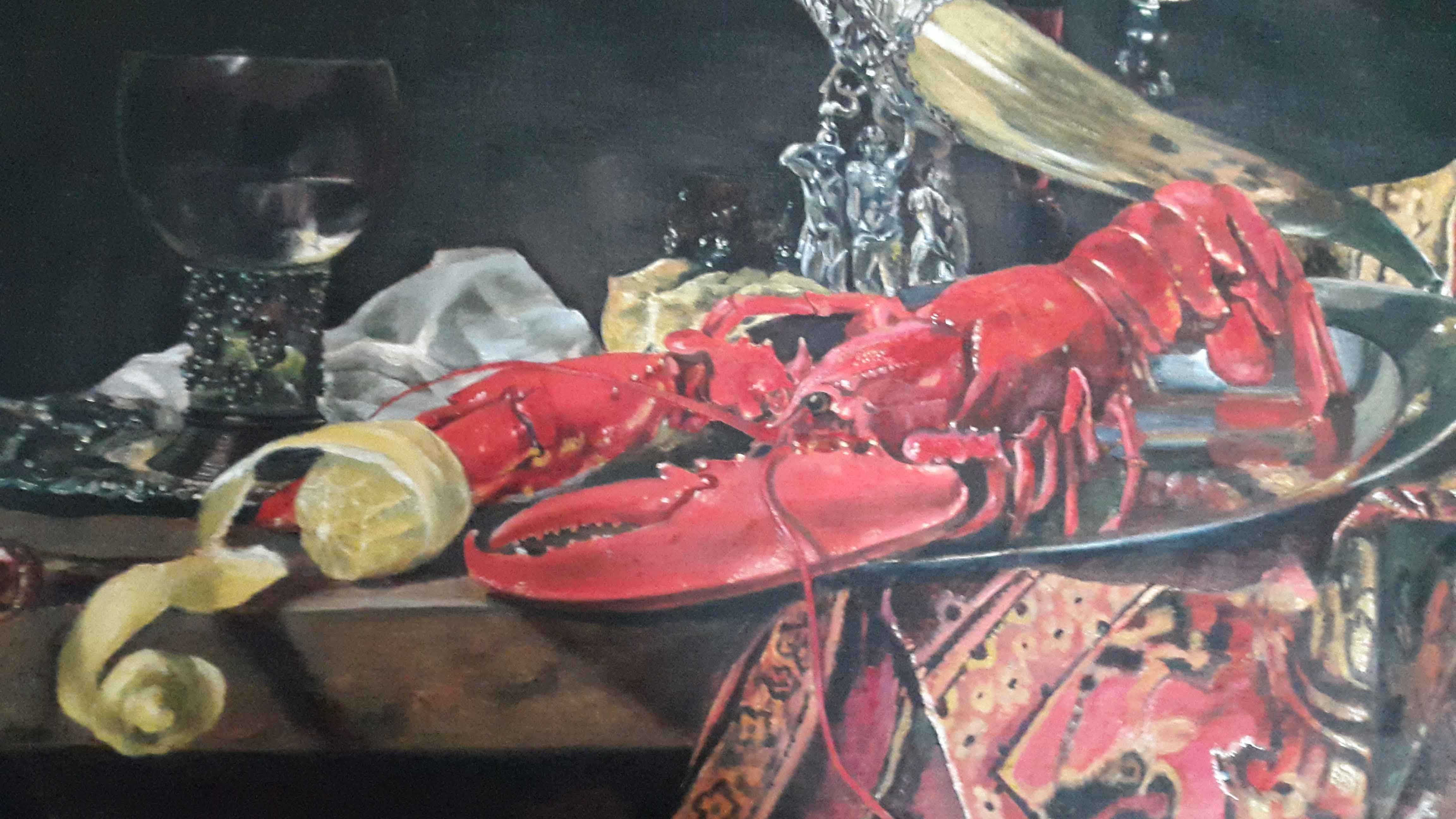 Lobster with a drinking horn (copy)