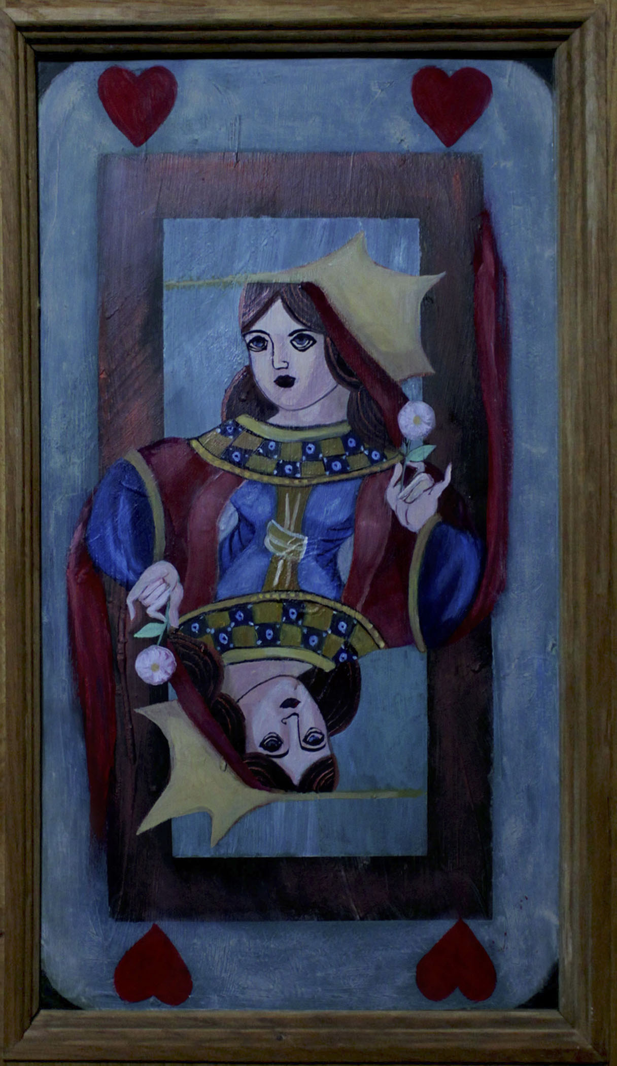 Queen on Door Panel
