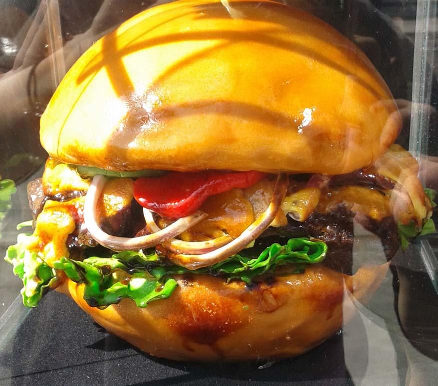 Burger Sculpture
