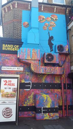 Band of Burger,Hatherley Rd.