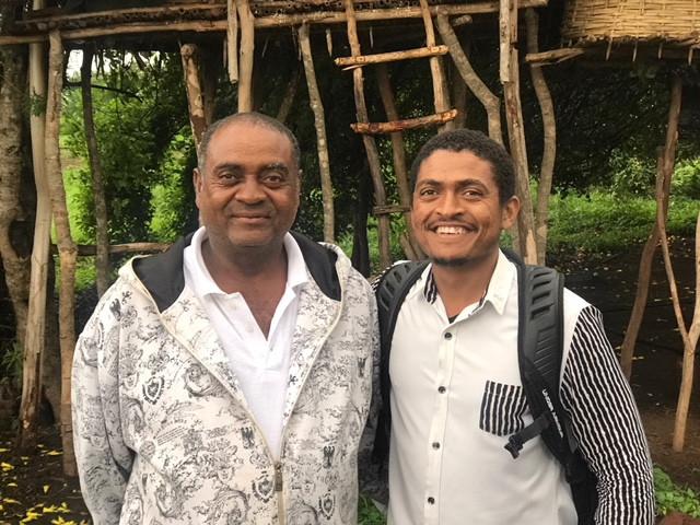 Tony & his dad Willie