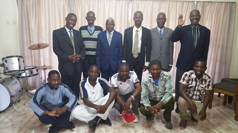 Men from the Pastors Mentorship Program