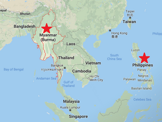 Expansion to Philippines & Myanmar