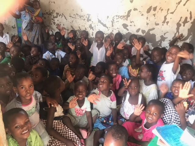 Children in small Sunday School Classroom