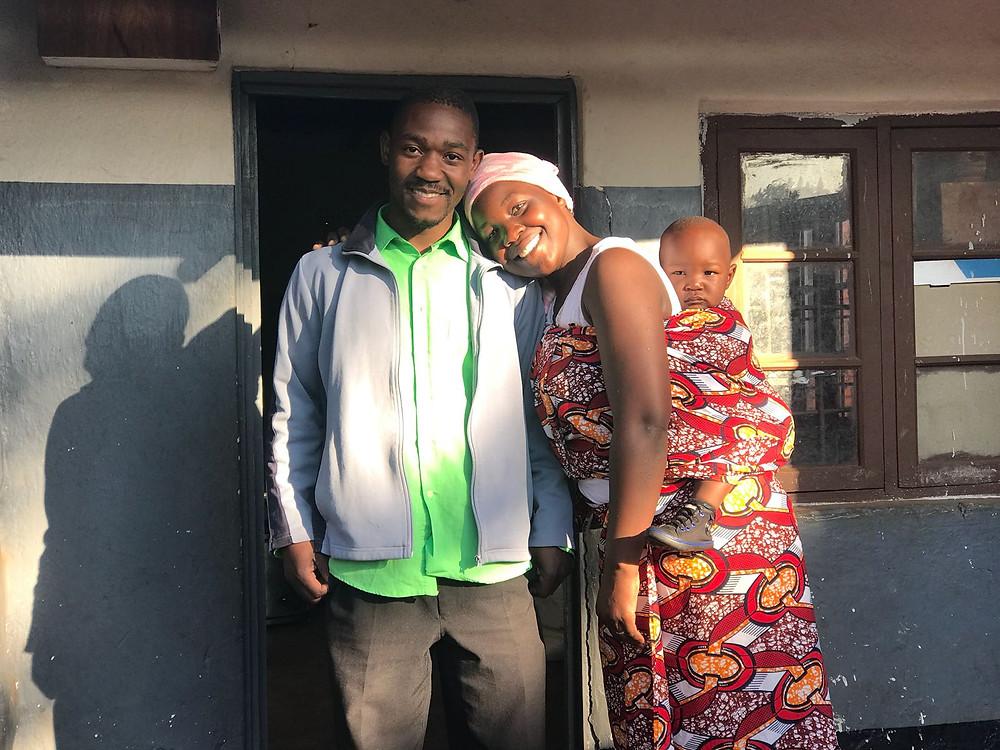 Pastor Joe, Happiness & baby Pedaiahew