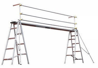 Trestle Handrail for Hire from MV Hire
